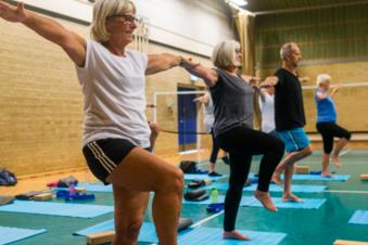 Balance og Hensyntagende bevægelse - Mandag kl 9-10