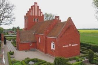 Kirkegårdstur i efteråret 2021 - Gershøj kirke og kirkegård
