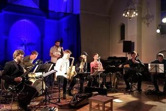 International jazz-oktet på Roskilde Bibliotek