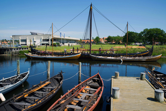 Vikingernes skibe - udendørs rundvisning på Museumsøen
