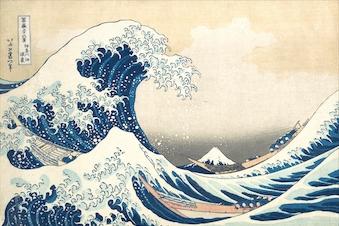 Japanske og europæiske kunstnere gensidig inspiration sidst i 1800-tallet