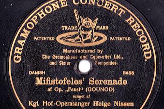Kgl operasanger Helge Nissen mindes